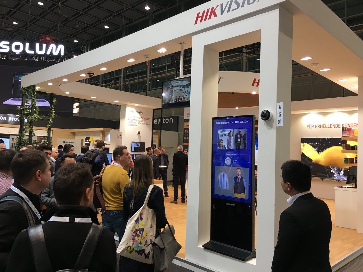 Warmly welcoming you to our stand (6/G01) at Euroshop! Come and visit our stand, and find out what Hikvision can offer to your business needs!  #Hikvision #Retail #Solutionspic.twitter.com/SXcFWRnwxd