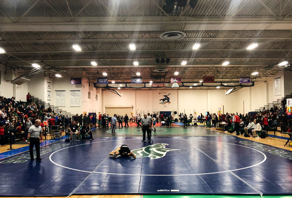 Good luck to all of the Region 5A teams competing today! 🤼♂️ ✨🏆