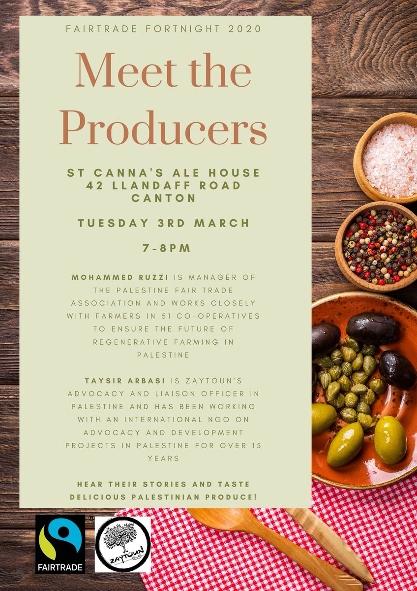 test Twitter Media - We're looking forward to this event during #fairtradefortnight @Zaytoun_CIC @StCannas @FairTradeWales https://t.co/jaCmZhCG6V