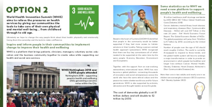 The Healthcare system are facing huge challenges - we know WHY and HOW we can support #SDG3 💡🌎🌏🌍#HealthForAll #WHIS @WHIS2020