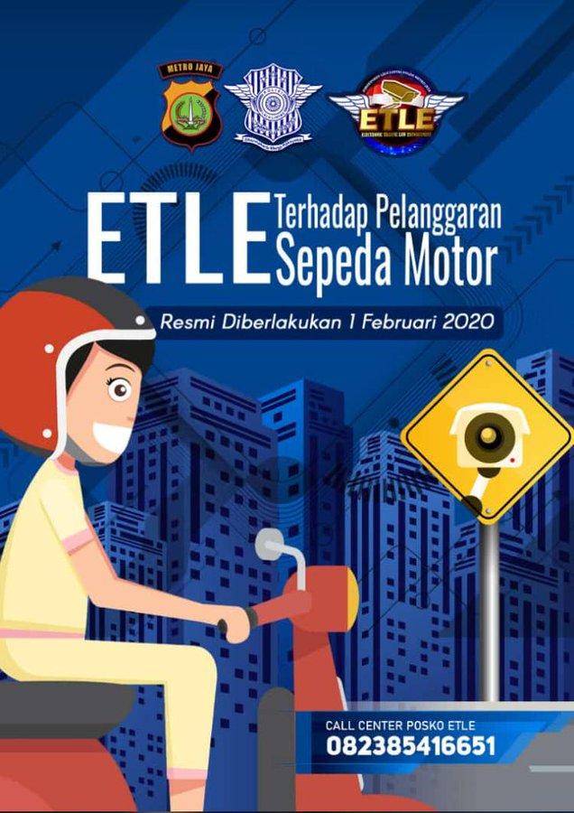 ESTE terhadap pelanggar sepeda motor