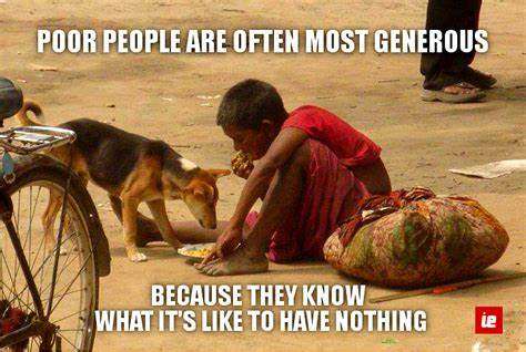 This quot really feel so true and i feel so small today that this poor boy who dont have enough to eat for himself sharing with a dog and what we do ?? #real #shame #poor #charity #hope #help #India #giving #sharing #news #people #join #community #smile #love #support #homeless<br>http://pic.twitter.com/2VOP2NrViC