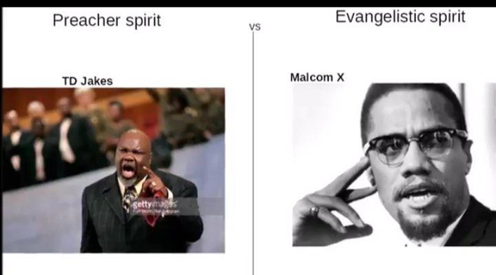 2 RUWA  THE RWA OF THE PREACHER, TD JAKES.                 OR THE RWA OF THE EVANGELISTIC  TO EVANGELIZE IS TO SPEAK TO THE SOUL & RUWA, TO TELL THE TRUTH & NOT JUST MOTIVATE TO MANIPULATE.USE YO GIFT OF PROPHECY, DISCERNMENT WORD OF WISDOM &KNOWLEDGE. ILL TAKE MALCOLM X ANYTIME! pic.twitter.com/P4ZeBebTBA