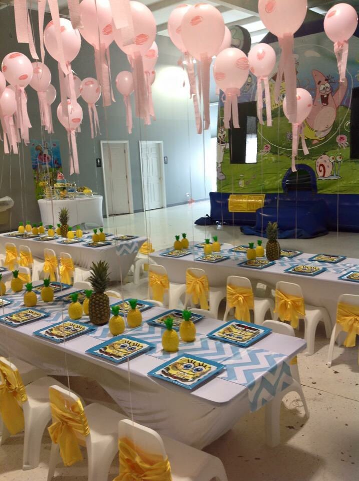 the amount of extra and effort I'll put into my child's future birthday parties