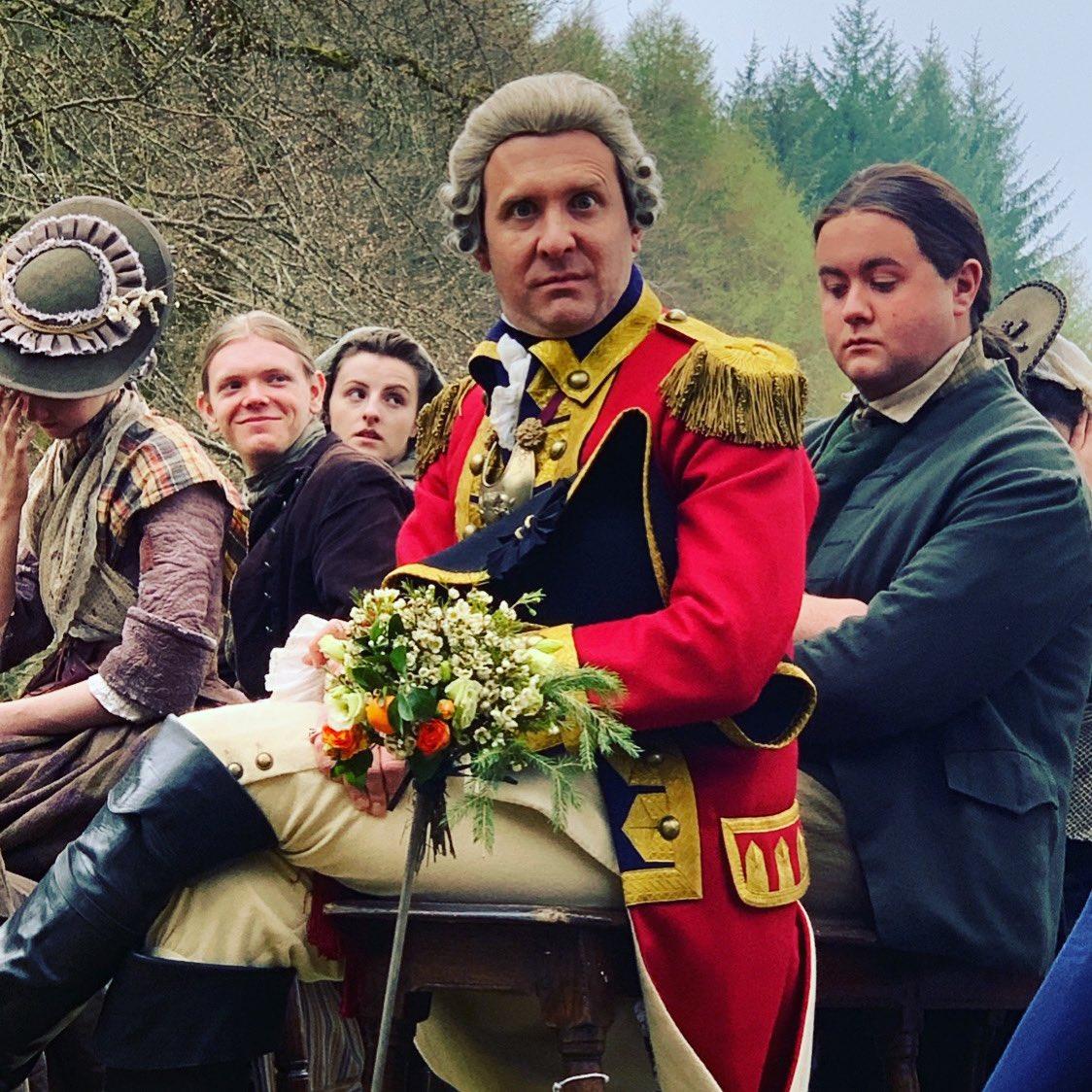 Governor Tryon, always the bridesmaid.  @TimDownie1 @Outlander_STARZ #outlander  #OutlanderS5 <br>http://pic.twitter.com/GWDYZnsalU
