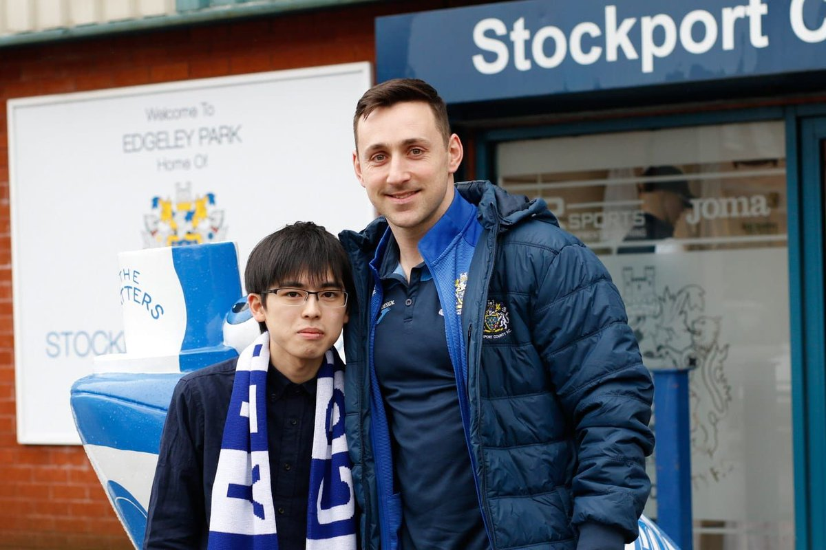 A big welcome to our special guest for today's game, Akito Aoki, who has flown in all the way from Japan to watch his beloved County today!   Welcome Akito, we hope you enjoy the game! 🇯🇵🎩 https://t.co/pADieHm8tz