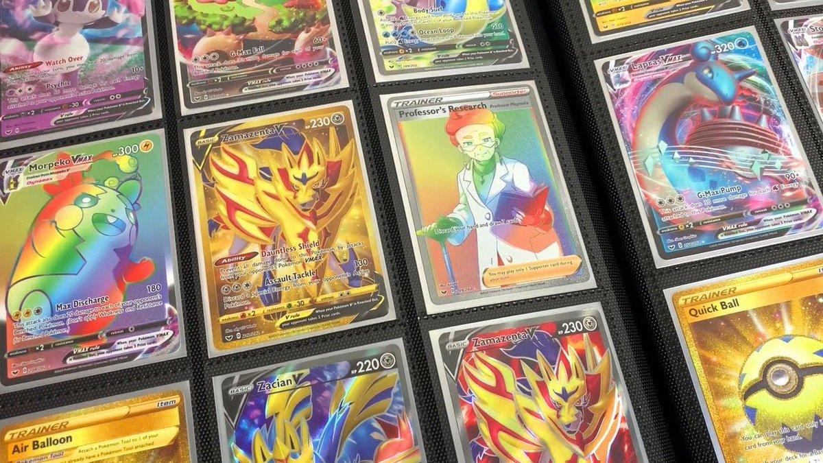 Did I 100% COMPLETE my Sword and Shield Pokémon card binder? youtube.com/watch?v=1Qa5f3…