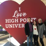 Great to visit my daughter @HighPointU and experience the extraordinary campus, faculty and administration.  #Familyweekend