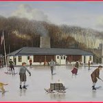 Image for the Tweet beginning: In the early 1950s, skating