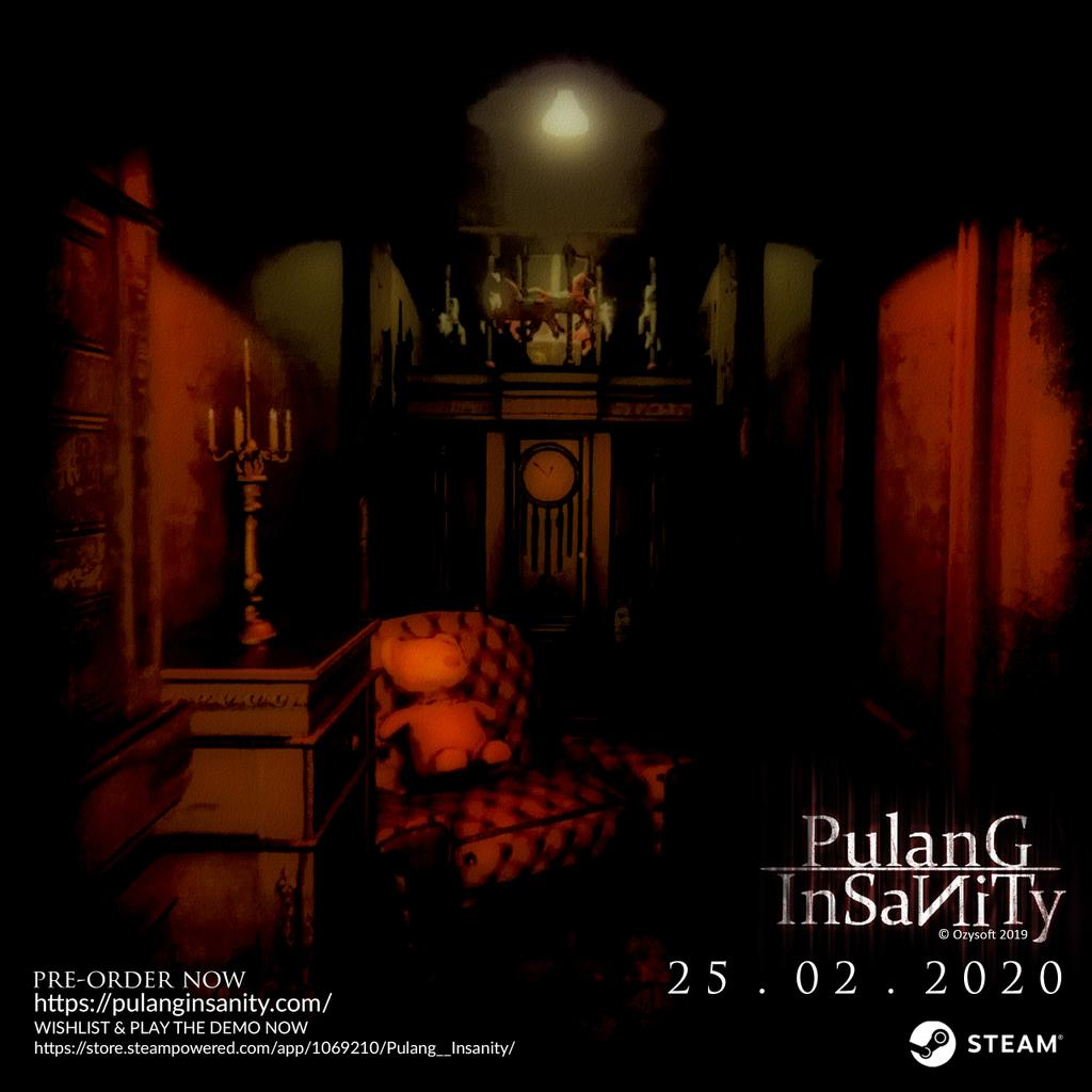 WISHLIST & PLAY THE DEMO NOW https://store.steampowered.com/app/1069210/Pulang__Insanity/ …  Website : http://pulanginsanity.com/   #EnterInsanity #ComingSoon #Games #Steam #Indonesia #horror #SurvivalHorror #PsychologicalHorror #pulanginsanity #NewDemoUpdatepic.twitter.com/blOmKRbz8U