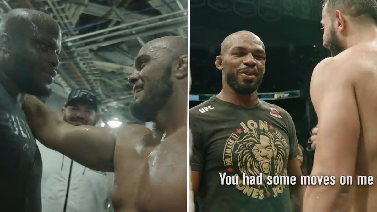 """Vår rematch kommer bli...""  Hör vad svenske UFC-stjärnan och Jon Jones sade till sina motståndare - direkt efter kontroversiella fighterna! https://t.co/cF5OgFtE9P https://t.co/2W4AtWrHBb"