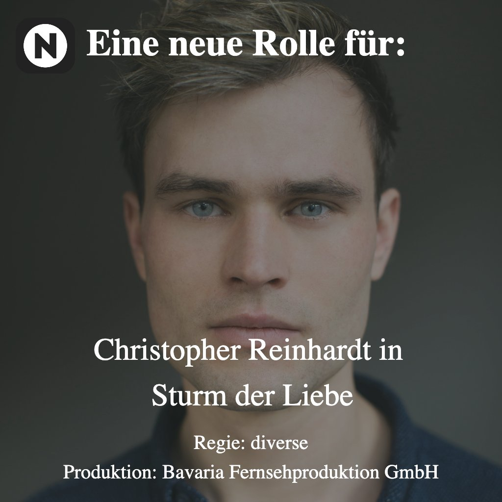 "Christopher Reinhardt in ""Sturm der Liebe""  Regie: diverse Produktion: Bavaria Fiction GmbH . . . #schauspieler #Schauspielerin #actor #actress #famous #work #cologne #berlin #news #neidig #silkeklug-bader #ard #tv #sturmderliebe #christopherreinhardt @BavariaFiction @DasErstepic.twitter.com/S3oRU4gL6K"