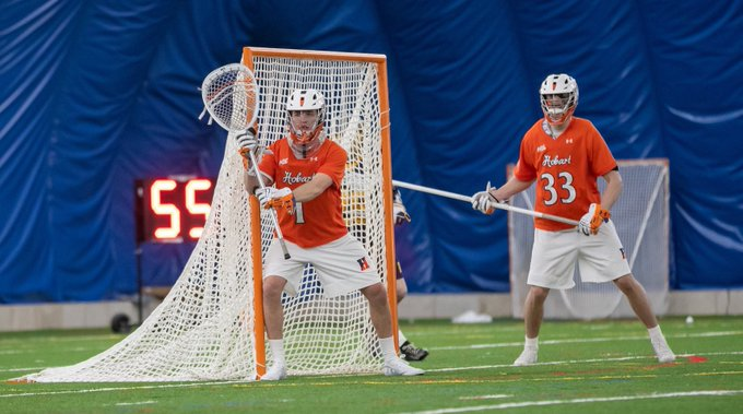 Hobart Men's Lacrosse pounds Siena, 26-9