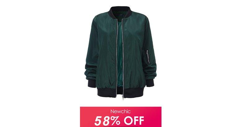 58% OFF / US$ 18.85 Stand Collar Zipper Sport Jacket Color: Black,Red,Green Size: S - 5XL #sale #jacket #womensfashion #sportjacket #winterswear #springwear #coat #giftforher  #affiliatelink https://pin.it/2fnvszkeyqeshk via @pinterestpic.twitter.com/PdgMUIZGeQ