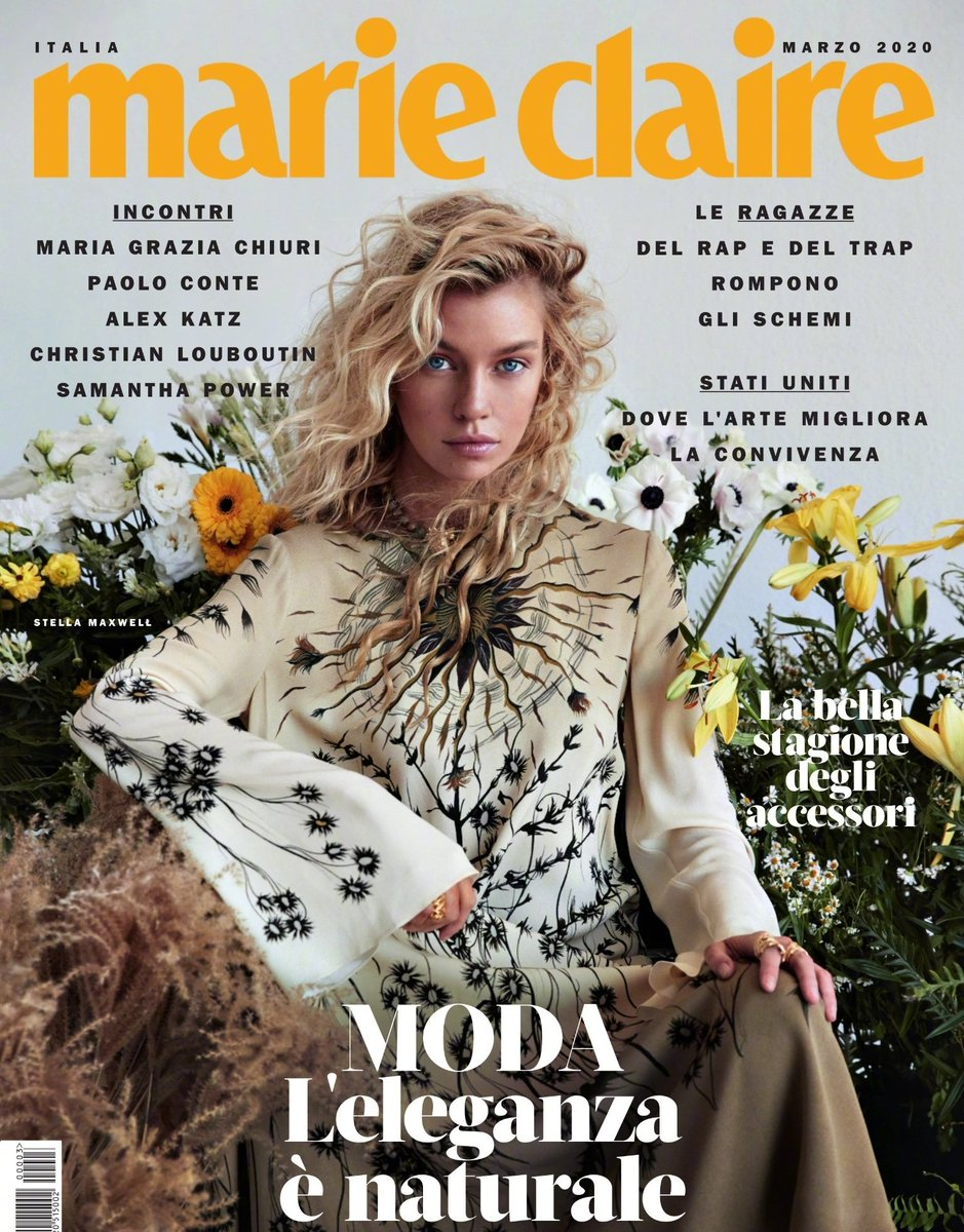 Stella Maxwell for Marie Claire Italia - March 2020 #stellamaxwell pic.twitter.com/Apm9vWOToZ