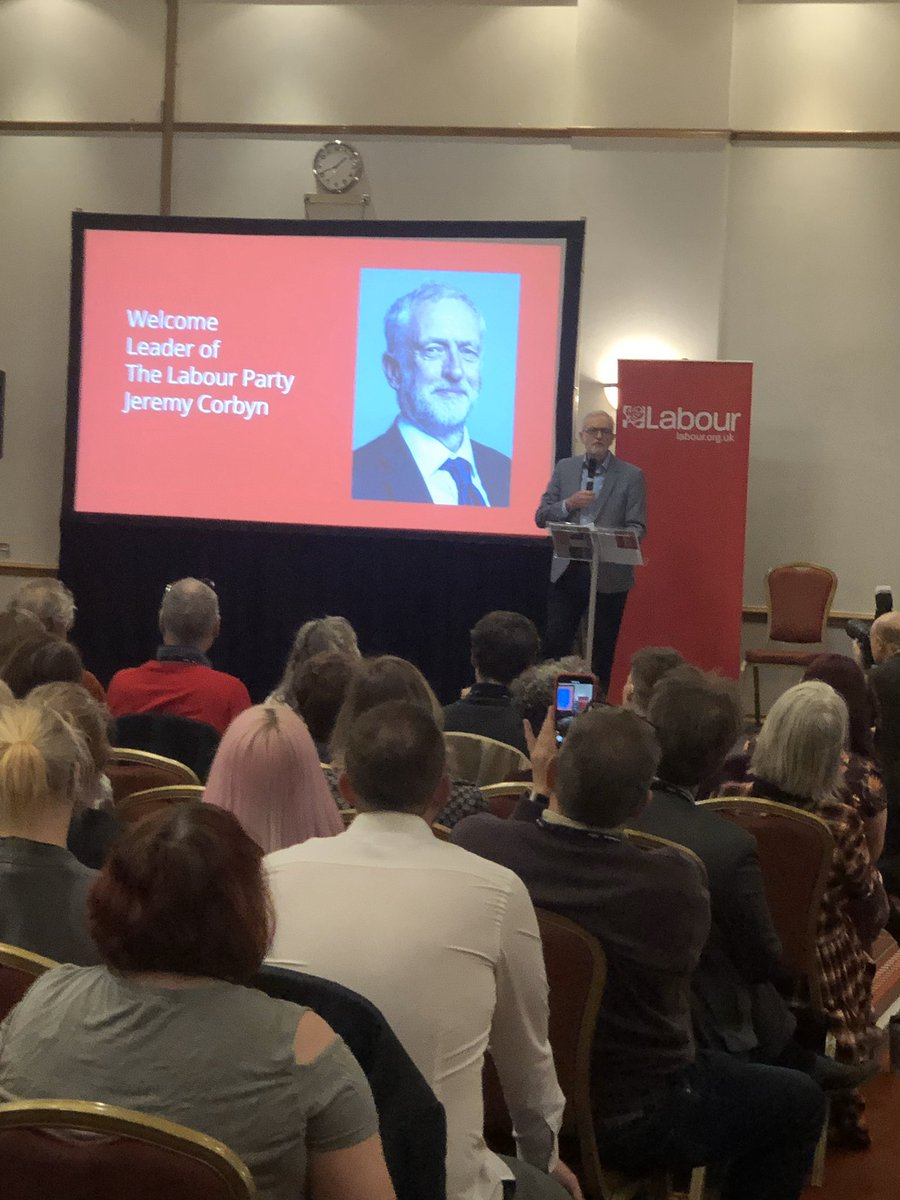 """Great line from @jeremycorbyn at #labsw in his farewell speech: """"you can't trust Boris Johnson. Don't take it from me: ask Sajid Javid."""""""