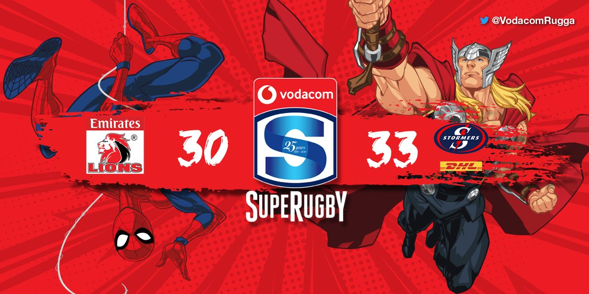WHAT!? The DHL @THESTORMERS steal the win after the hooter with a try by Ruhan Nel. Never a dull moment in Vodacom #SuperRugby. The Capetonians are the South African team to beat. #LIOvSTO <br>http://pic.twitter.com/i10qa5WRkw