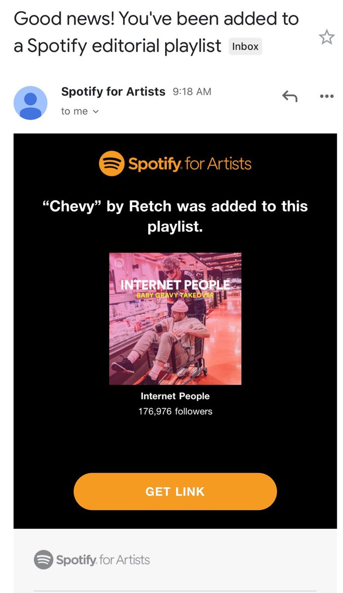 S/O @SPOTIFY MY NEW SINGLE #CHEVY BEEN MAKIN BIG NOISE ALL PRAISE TO GOD🙏🏾 VIDEO OTW 😈😈😈 open.spotify.com/playlist/37i9d…