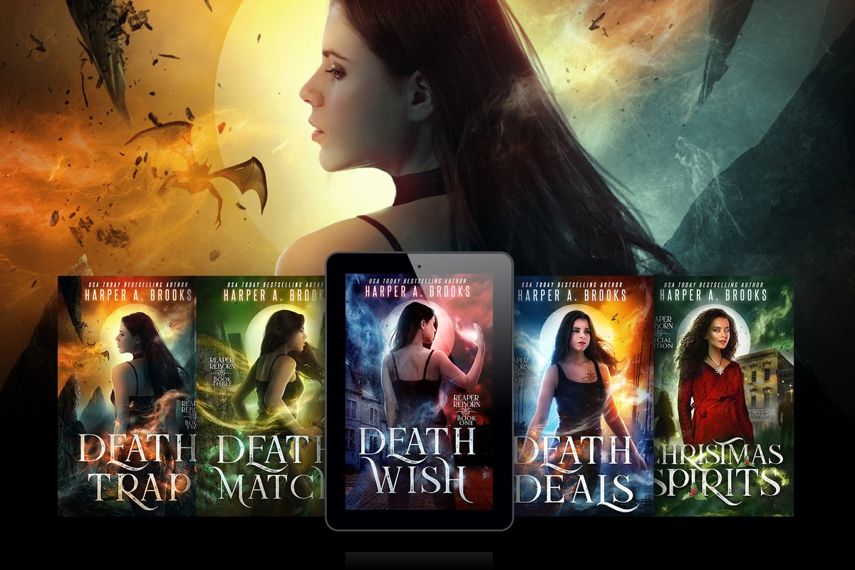 Guarded secrets. No one to trust. Jade is caught in one Hell of an afterlife.  The Reaper Reborn Series is #FREE on #KU! #urbanfantasy #greatcharacters #mustread #amazonkindle  https://www.amazon.com/gp/product/B07RSDJVM7…pic.twitter.com/PZRidOvgNc