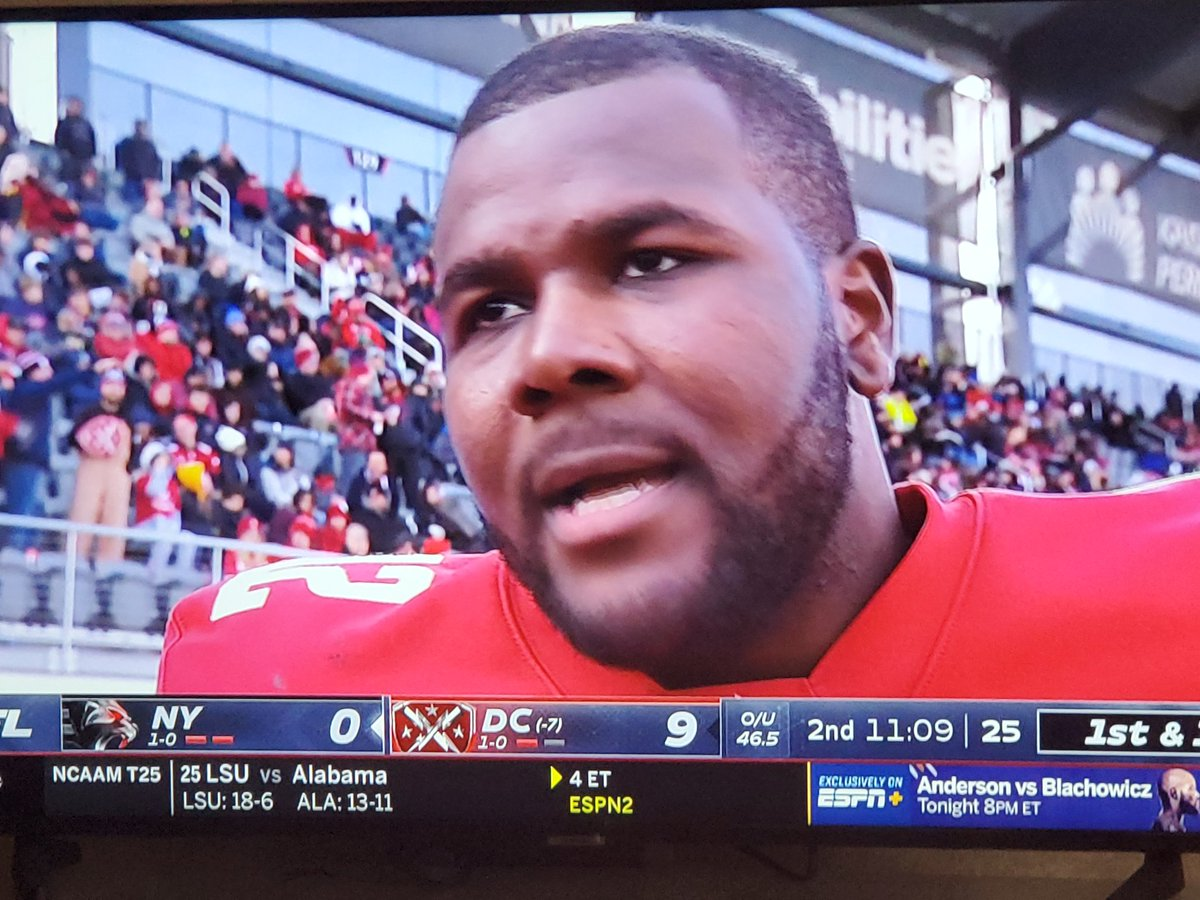 Cant believe he quit them Madea movies to play QB for the Defenders #XFLfootball