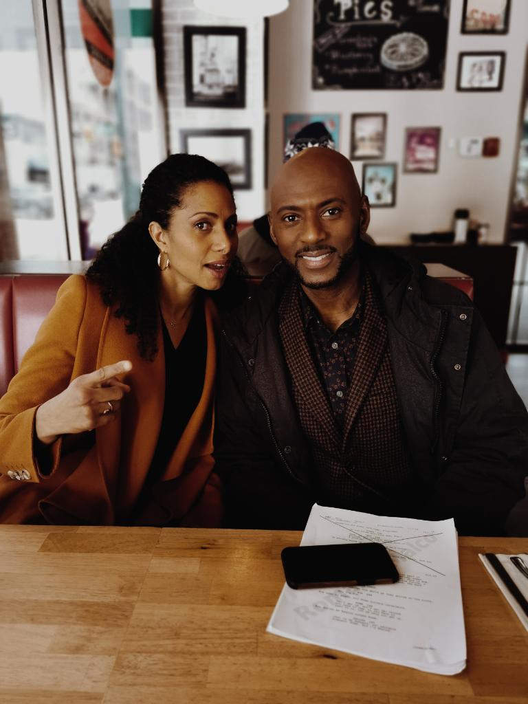 Those moments between takes 🥰 #behindthescenes #AMillionLittleThings