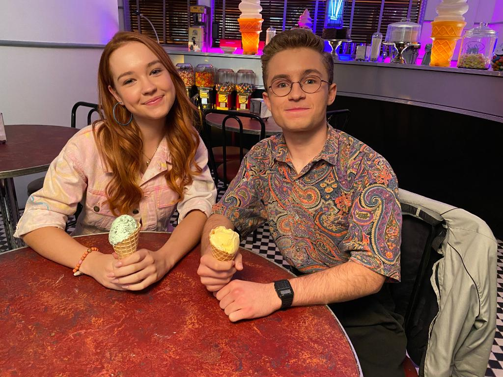 Weekend plans: ice cream and getting ready for a brand new #TheGoldbergs on Wednesday. 🍦