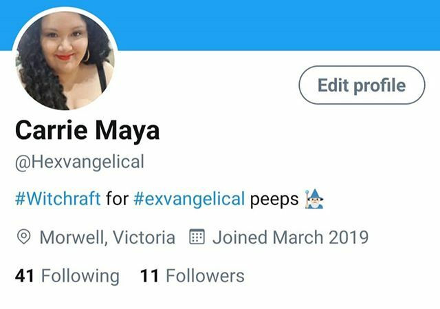 You can now follow me on Twitter, y'all.  #twitter #socialmedia #follow #happinessisachoice #soulsearching #spiritualcoach #lgbtlove #feminists #quantumhealing #shamanism #witchvibes #witchythings #witchlife #chaosmagick #chaosmagic #witchesofinsta… https://ift.tt/38xgo3dpic.twitter.com/3G2If8ooQd