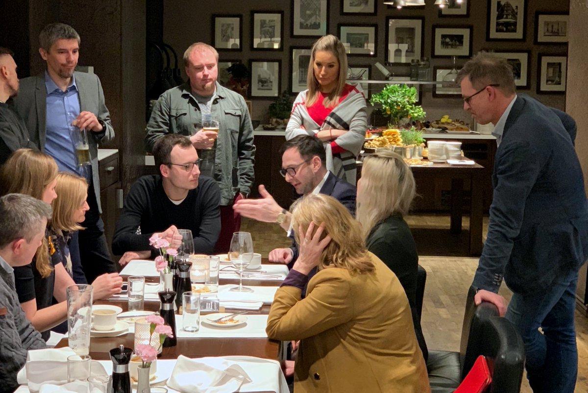 Przy okazji konferencji prasowej dot. odbudowy i uruchomienia torów z Możejek do Renge dyskutowaliśmy z dziennikarzami o nowych inwestycjach Grupy ORLEN, procesach akwizycyjnych oraz umocnieniu pozycji @PKN_ORLEN na globalnym rynku