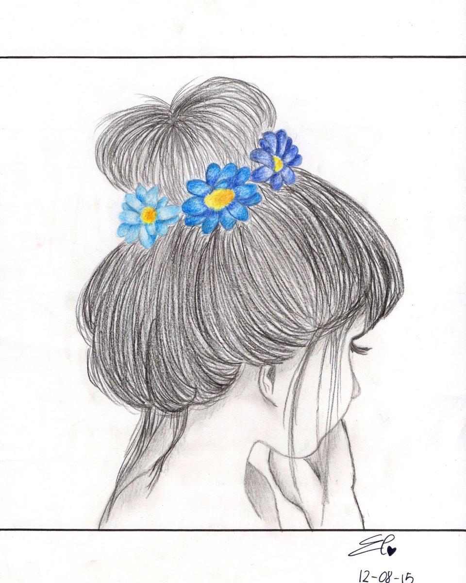Blue  12 August 2015  #drawing #art #sketch #inlove #tb #artist #artofvisuals #artoftheday #spain #formentera #eyes #lightblue #blackandwhitedrawing #blackandwhite #artsy #artistic #followme #pencil #pen #girl #flowers #blue #rtpic.twitter.com/Kq1lMa5hMc