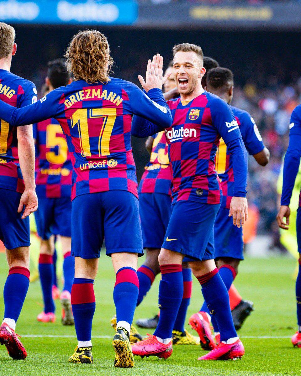 ⏰ İlk yarı bitti!  ⚽ #BarçaGetafe (2-0)