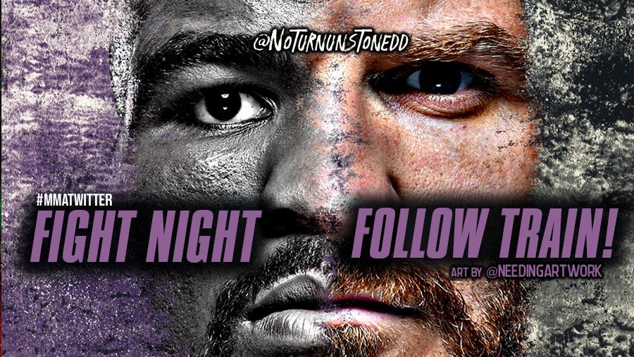 #UFCRioRancho FIGHT NIGHT FOLLOW TRAIN!!🔥💯   1. RETWEET & LIKE this Post. 2. Follow all MMA fans that RT/Like. 3. Drop your fight predictions in the thread. 4. Watch your following grow & connect with new fans!👊🏻  #MMATwitter #FightNightFollowTrain🚆 Art by: @needingartwork https://t.co/Y8AwvxUerR