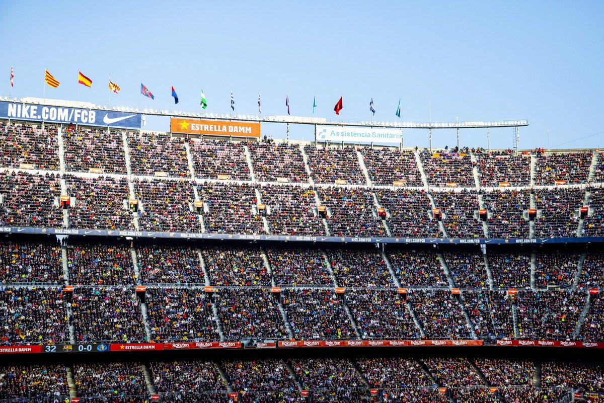 👏Sore ini hadir 80.409 fans! 💙❤ Gracias afición