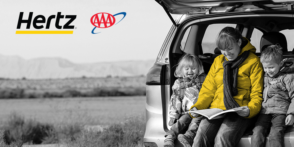 Use your #AAADiscounts to save up to $30 off the base rate of weekend & weekly rentals with @Hertz. Book now:  *Ends 3/31/2020. Discount applies to pay later base rate. Taxes & fees excluded. Terms apply. #Hertz #TravelMore