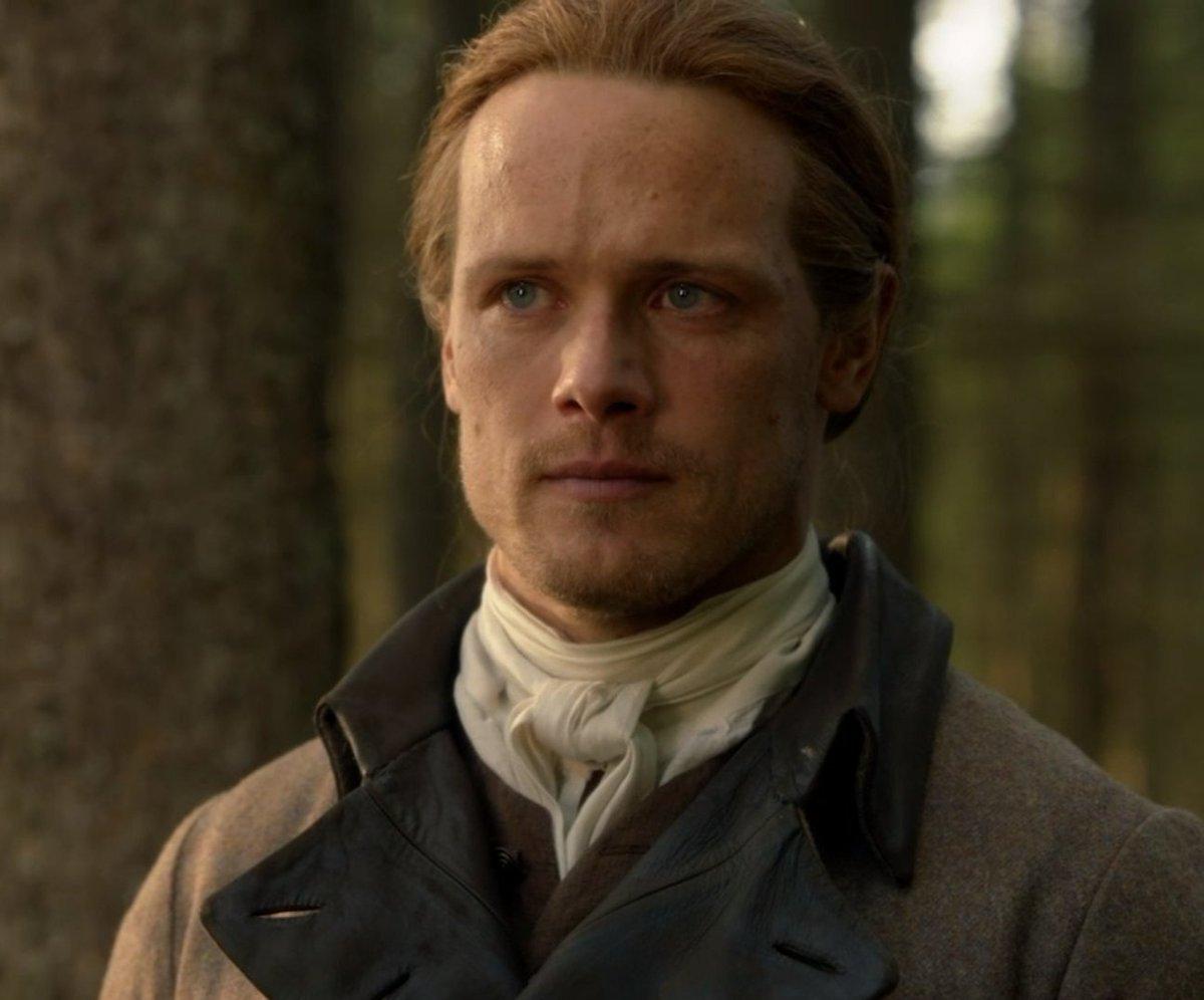 This is what award-winning acting looks like. This is what an Emmy looks like. This is Sam Heughan. #SamHeughan #JamieFraser #Outlander   #OutlanderPremiere   #OutlanderSeason5Premiere <br>http://pic.twitter.com/6snP9We1Aj