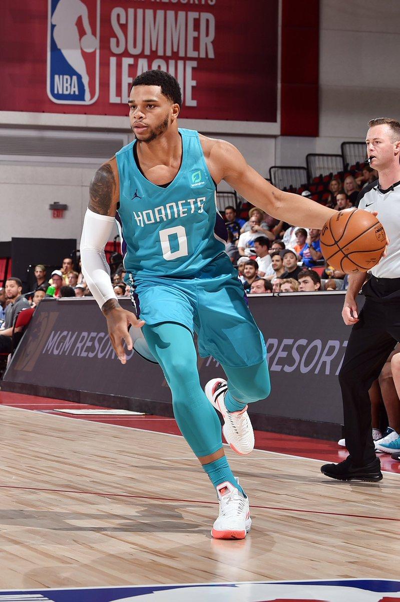 2018 & 2019 #NBASummer alum ⬇️ 2020 #NBARisingStars M⭐️V⭐️P @MilesBridges https://t.co/Jo4ldty8eU
