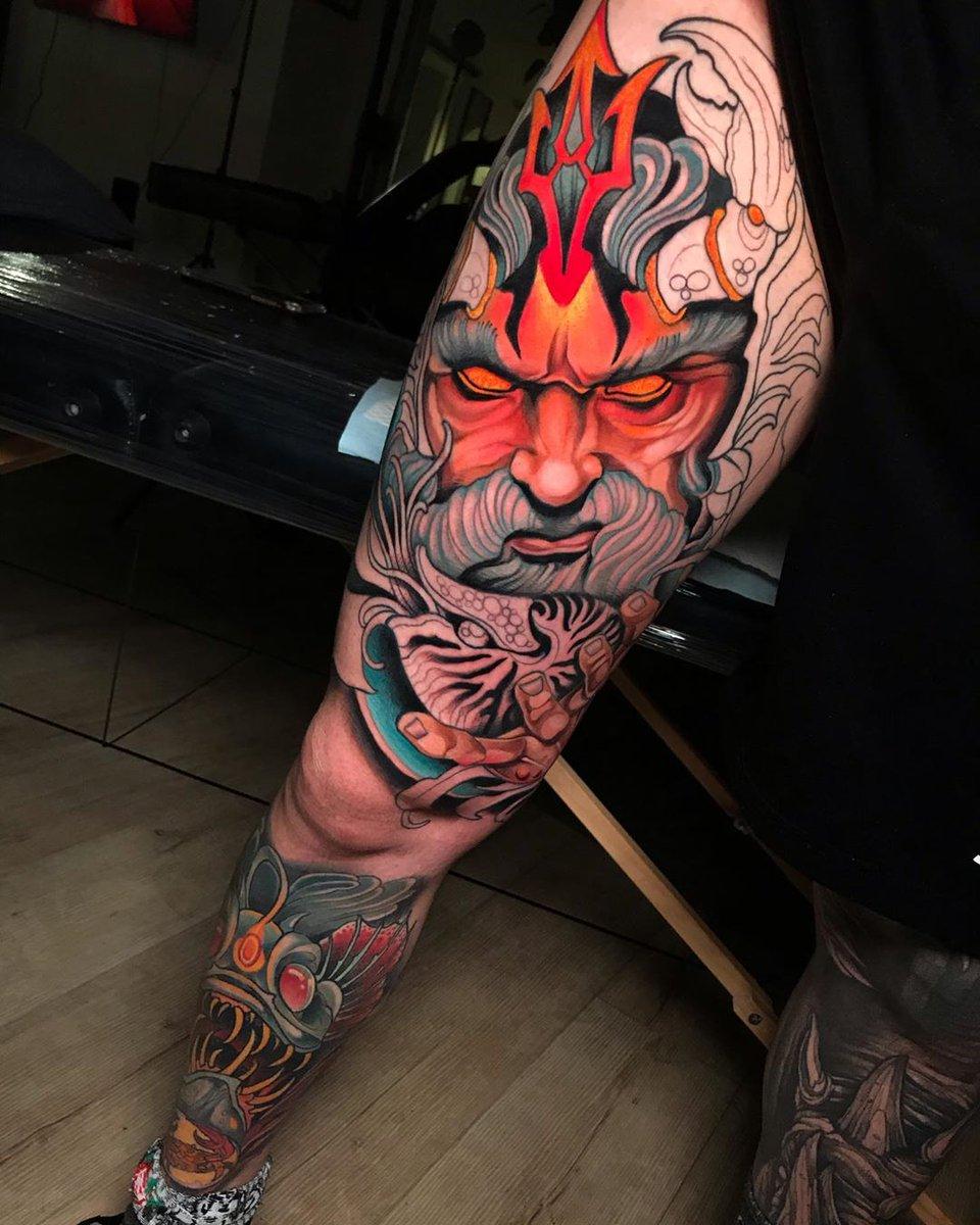 "Killer Ink Tattoo On Twitter: ""killer #wip By Johnny Domus"