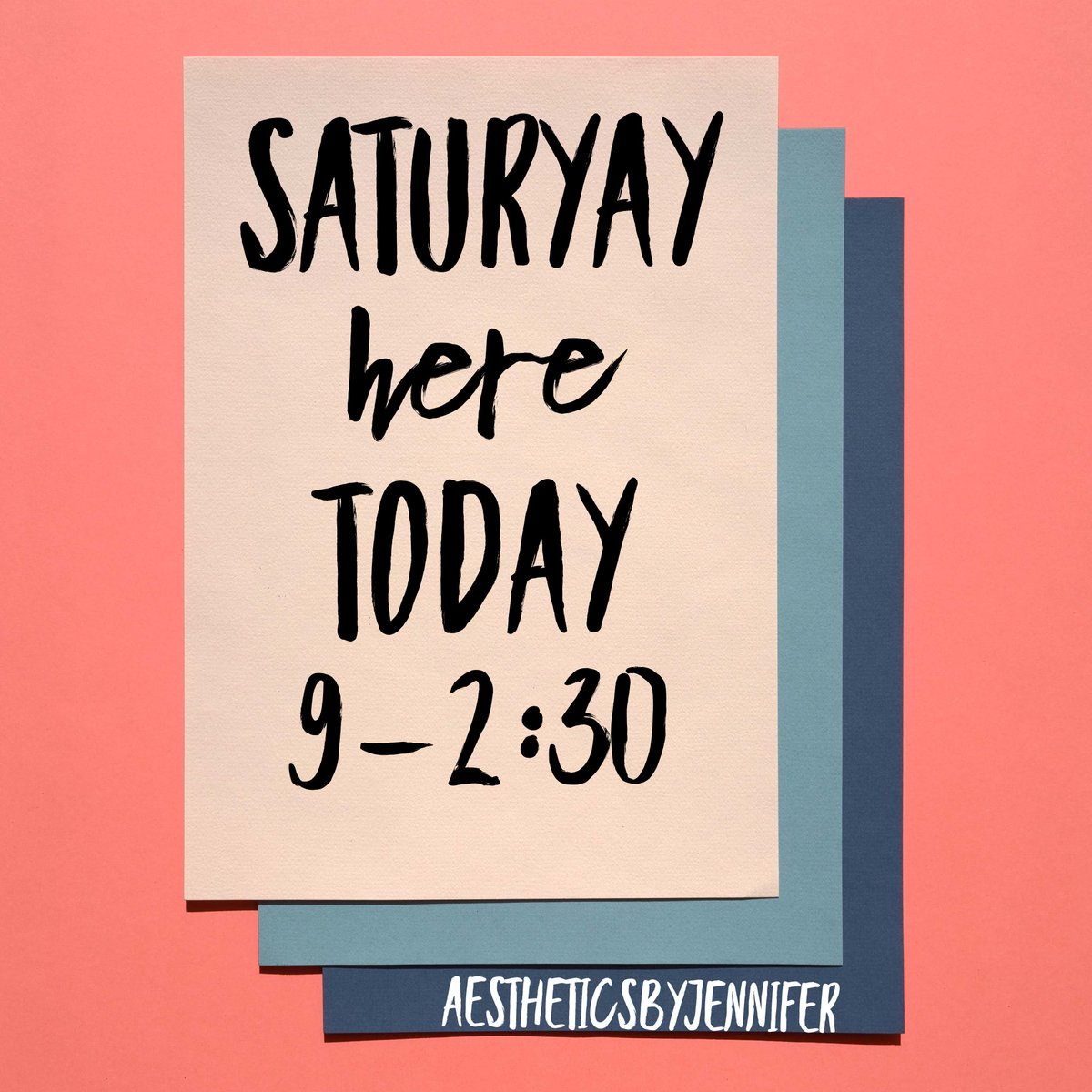 In two Saturdays a month! Plan ahead! Appointments go fast! #saturday #saturyay #facials #threading #waxing #skincare #smallbusiness #eyebrows #placentia #oc #girlboss #25yearsinthegame #24yearsinbusinesspic.twitter.com/A4Hf8SYFJj