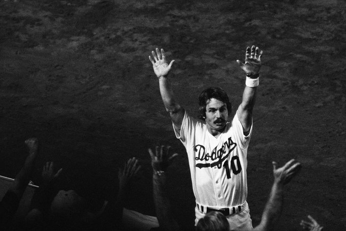 OCDF wishes 1981 World Series co-MVP Ron Cey a very happy 71st birthday! (Photo courtesy of