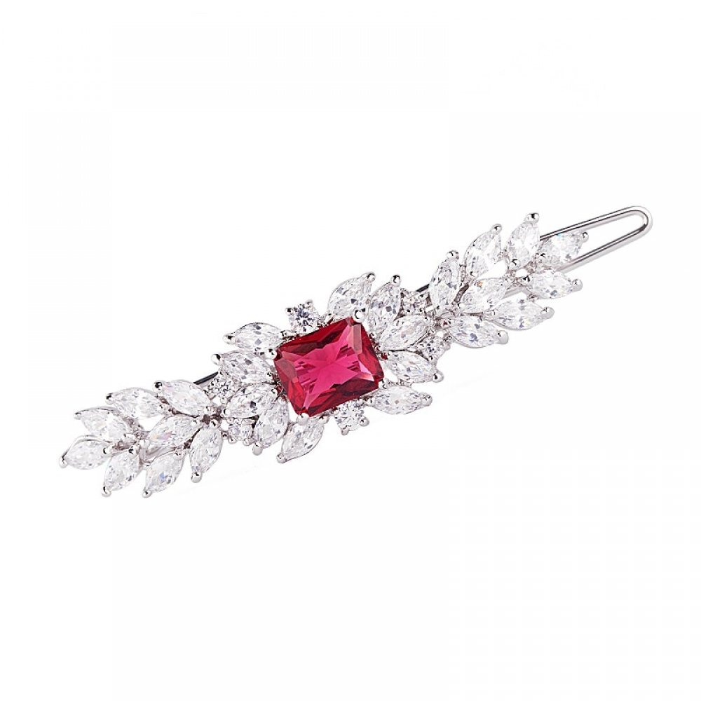Love our Elegant Crystal Hair Clip?  $22.00  #jewelrymaker #jewelrystore