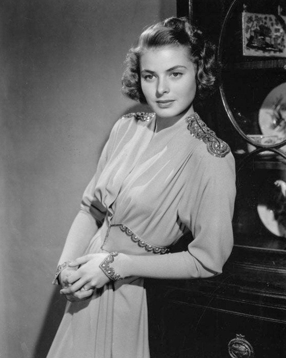 "Conrad J. Barrington on Twitter: ""Ingrid Bergman in a publicity photo for  Rage in Heaven (1941)… """