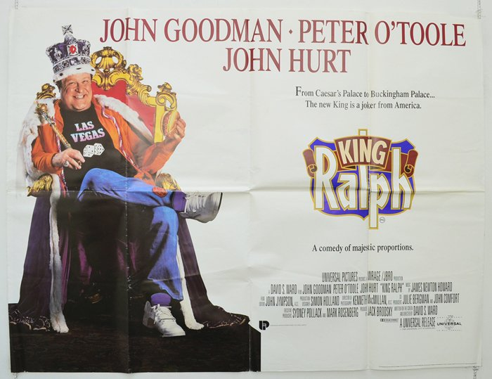 Released #OnThisDay in 1991 , King Ralph #90smovies pic.twitter.com/aCJOQnU3KR