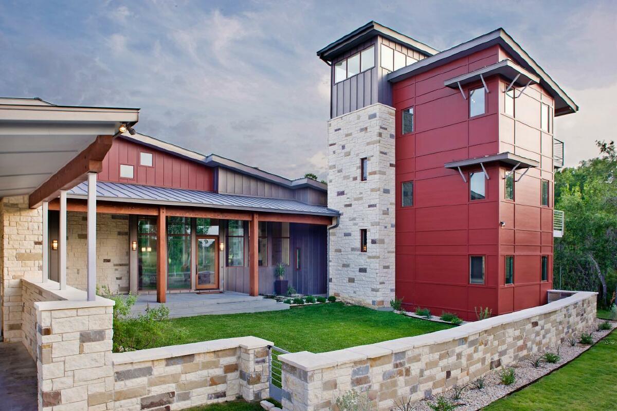 modern ranch exterior - HD1192×800