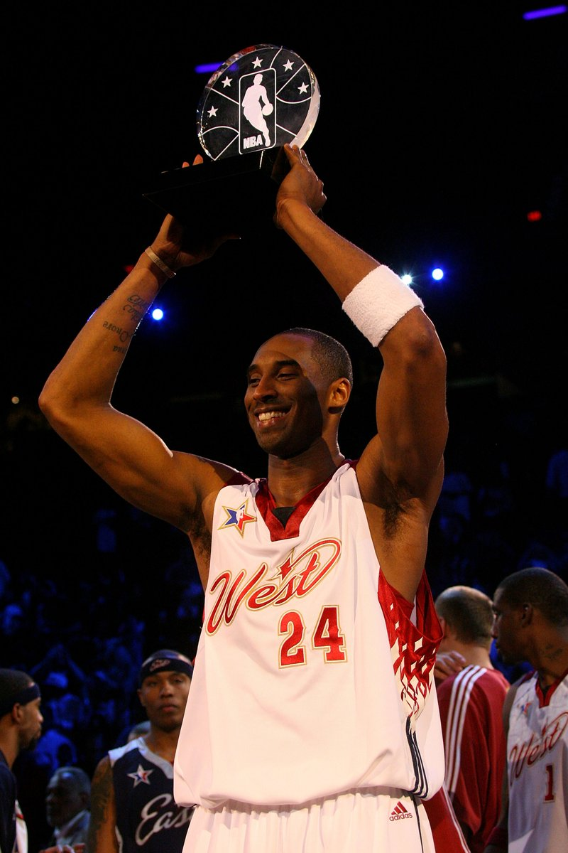 The NBA announces the All-Star Game MVP will now be the Kobe Bryant MVP Award