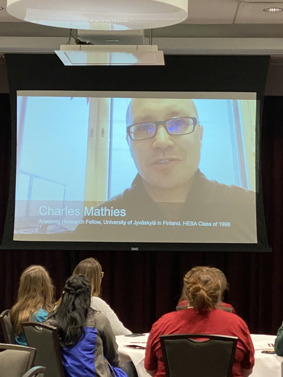 Welcome home (video) to @uofschesa, @charles_mathies! Thanks for the video for #GARP2020