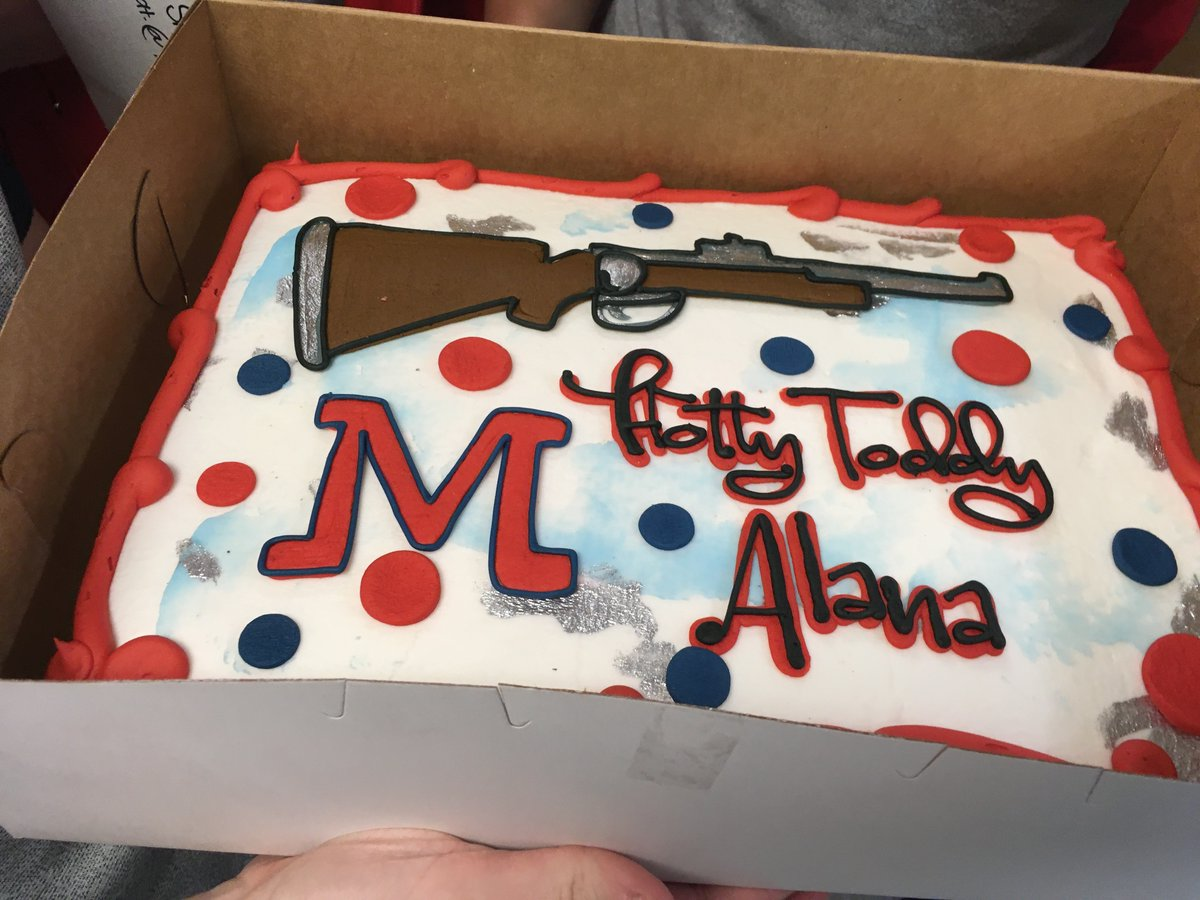 Tremendous Ole Miss Rifle On Twitter A Senior Day To Remember Funny Birthday Cards Online Fluifree Goldxyz