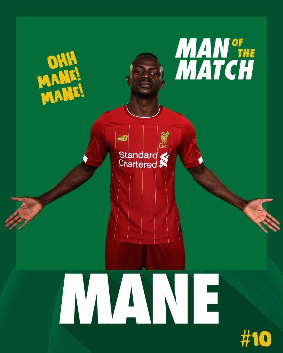 Match-winning goal on his return 🤩 ⚡adio Mane, who else 😎