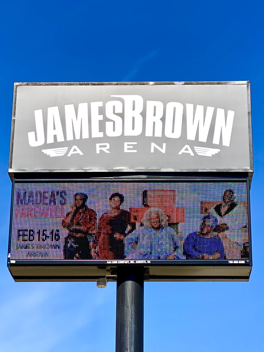 Madea and the family are making their last stop in Augusta, GA @augustaentertainmentcomplex tonight and tomorrow!  Come to the show and say your final farewell to Madea! #MadeasFarewellTour #Madea #AugustaGA #JamesBrownArena pic.twitter.com/M2Js3vLhIp