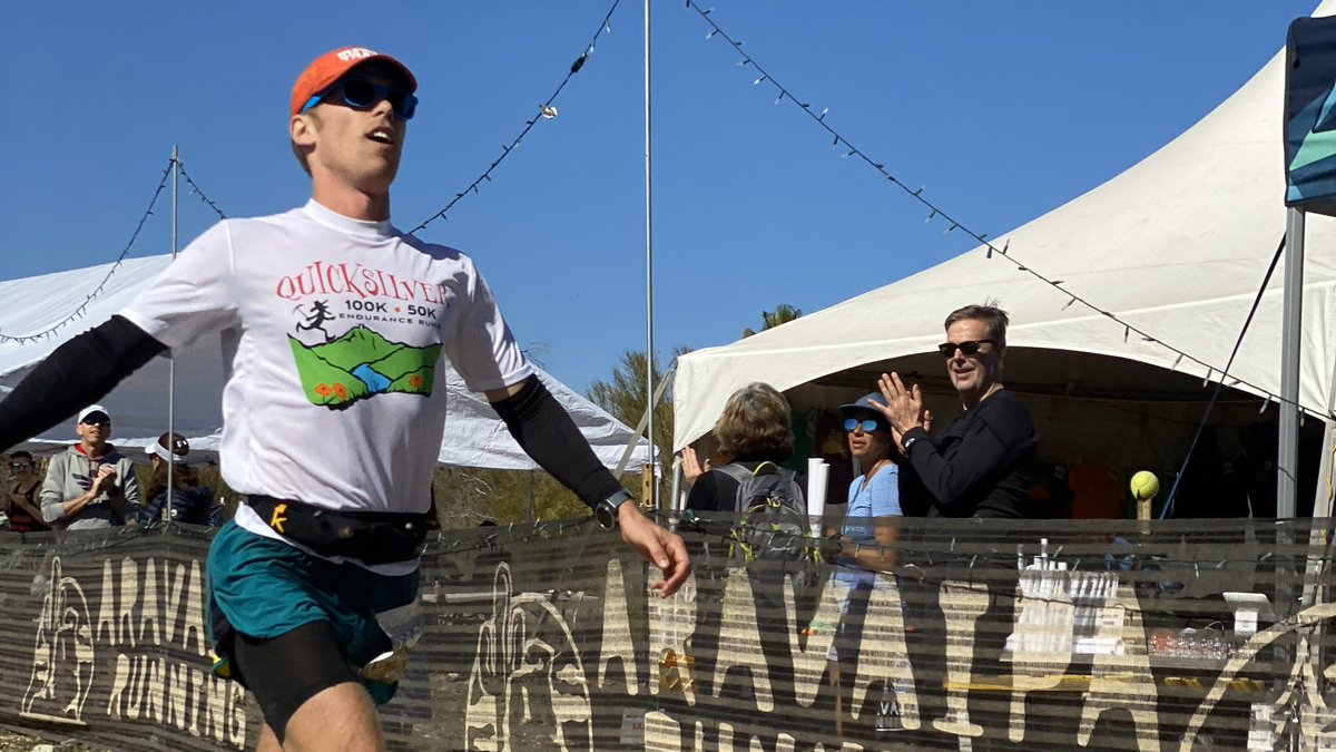 Congratulations to our Black Canyon Ultras 60k winner, Patrick Rabuzzi! He finished in 5:01! #blackcanyonultras60k