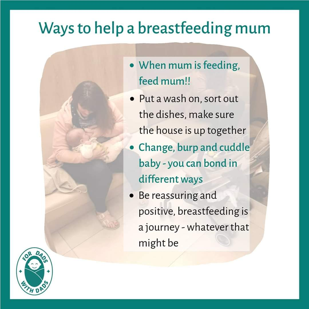 Feeling like a spare part whilst mum breastfeeds?   We've got some simple ways to help you feel included.   Let us know how you've got involved with breastfeeding.  #baby #babies #dad #dadsoftwitter #dadblogger #thedadnetwork #dadblog #babiesofinstagram #dorsetparents #familypic.twitter.com/JgAxRexXei