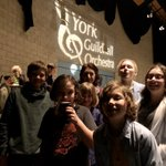 Image for the Tweet beginning: Wonderful concert from @York_Guild_Orc wonderful